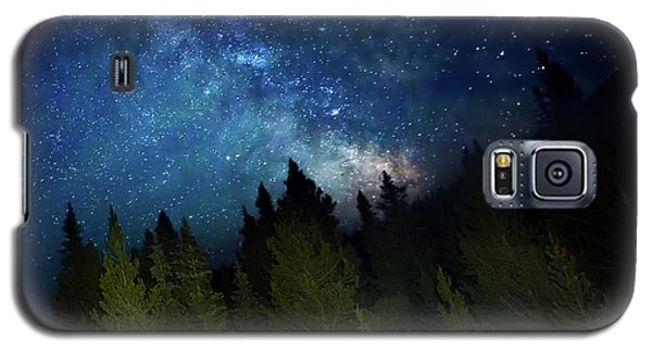 Milky Way On The Mountain Galaxy S5 Case