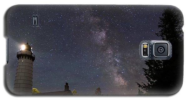 Milky Way Over Cana Island Lighthouse Galaxy S5 Case