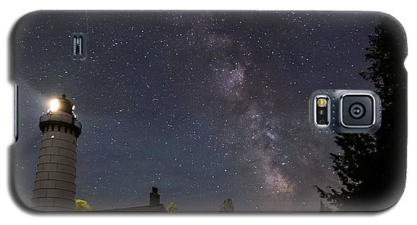 Milky Way Over Cana Island Lighthouse Galaxy S5 Case