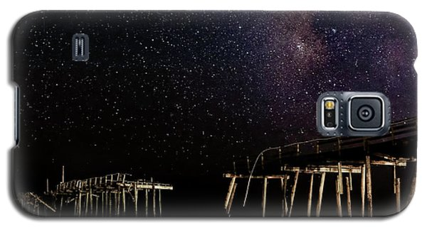 Milky Way Over Frisco Galaxy S5 Case