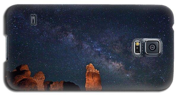 Milky Way Over Garden Of Eden Galaxy S5 Case