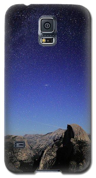 Milky Way Over Half Dome Galaxy S5 Case