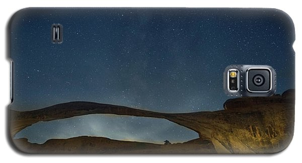 Milky Way Over Landscape Arch Galaxy S5 Case
