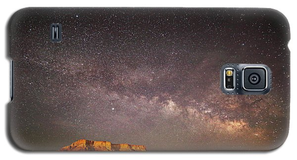 Milky Way Over Lechee Rock Near Page Az Galaxy S5 Case