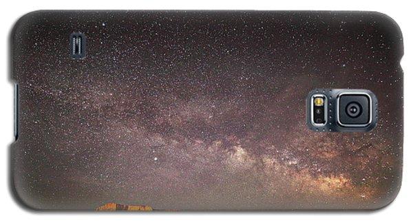 Milky Way Over Lechee Rock Near Page Az Galaxy S5 Case