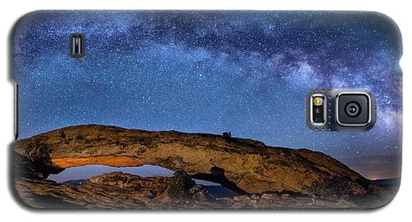 Milky Way Over Mesa Arch Galaxy S5 Case