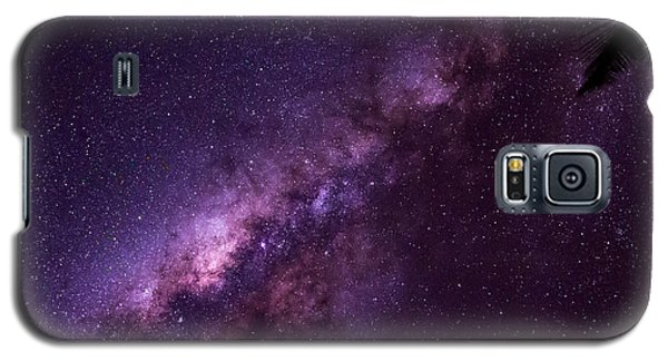 Milky Way Over Mission Beach Galaxy S5 Case by Avian Resources