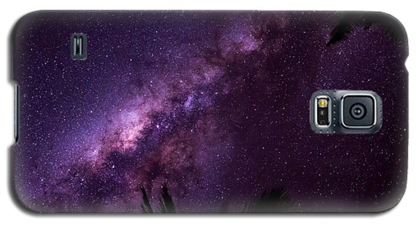Milky Way Over Mission Beach Narrow Galaxy S5 Case by Avian Resources