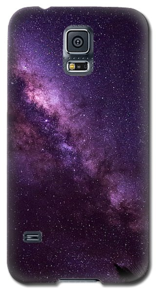 Milky Way Over Mission Beach Vertical Galaxy S5 Case