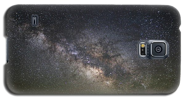 Milky Way Over Monument Valley Galaxy S5 Case