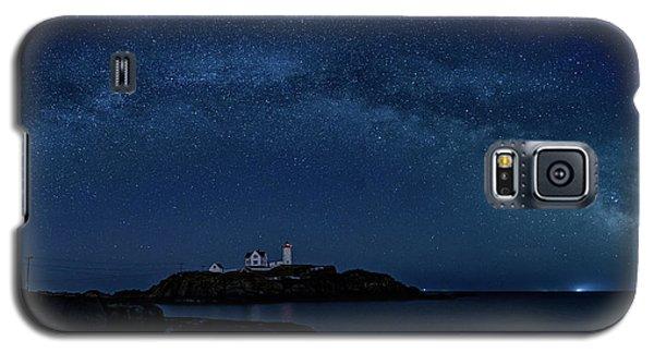 Milky Way Over Nubble Galaxy S5 Case