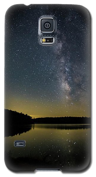 Milky Way Over Price Lake Galaxy S5 Case