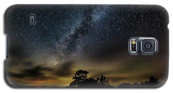 Milky Way Over The Blue Ridge Galaxy S5 Case
