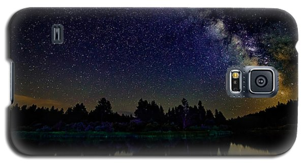 Milky Way Over The Deschutes River - 2 Galaxy S5 Case