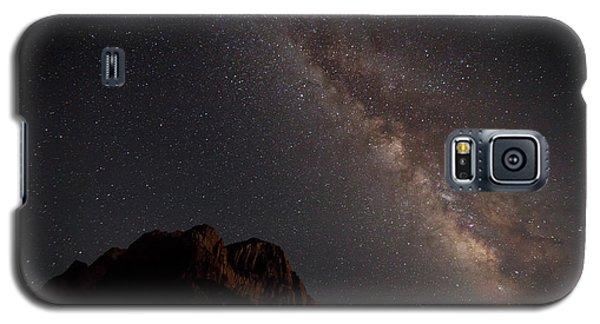 Milky Way Over Zion Galaxy S5 Case