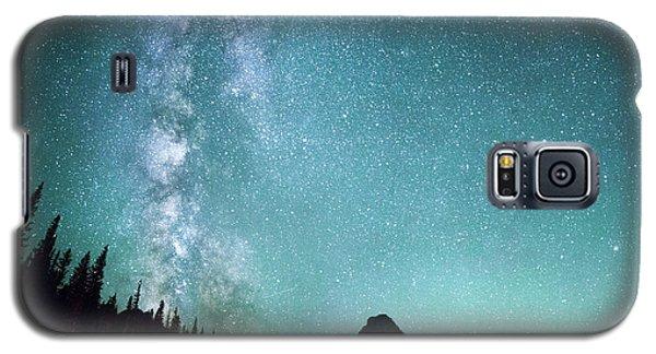 The Sky Galaxy S5 Case - Milky Way // Two Medicine Lake, Glacier National Park by Nicholas Parker