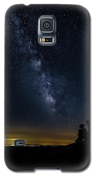 Milky Way Viewed From Rough Ridge Galaxy S5 Case