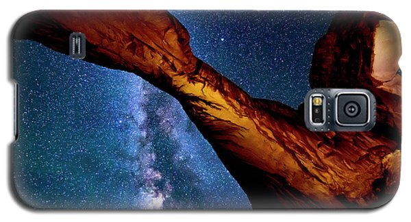 Milkyway At Arches Galaxy S5 Case