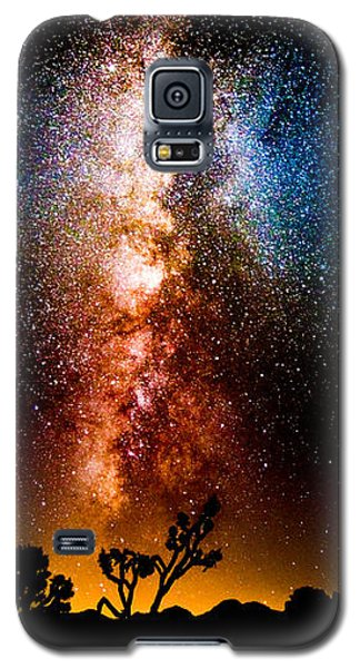 Milkyway Explosion Galaxy S5 Case