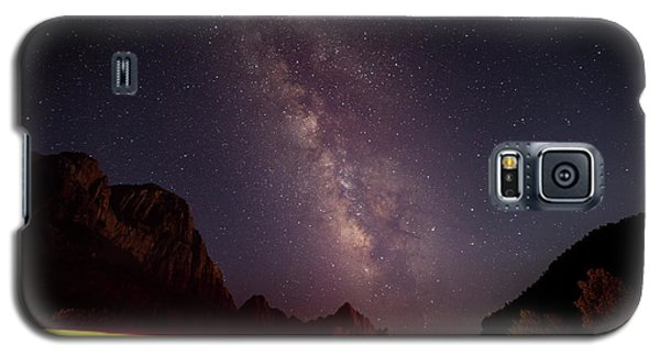 Milkyway Over The Higway Galaxy S5 Case