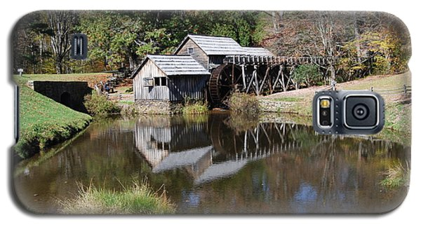 Galaxy S5 Case featuring the photograph Mill Reflections by Eric Liller