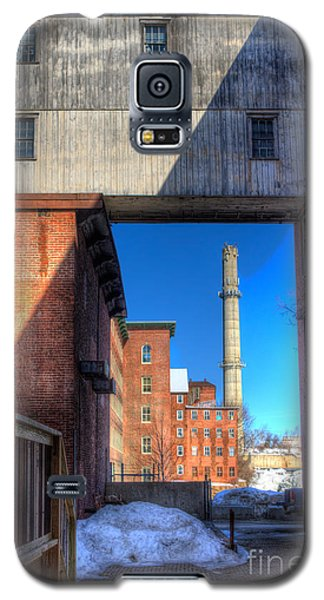 Galaxy S5 Case featuring the photograph Mill Yard by David Bishop