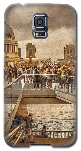 London, England - Millennium Bridge II Galaxy S5 Case