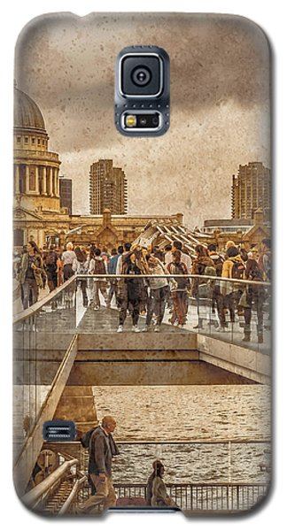 London, England - Millennium Bridge II Galaxy S5 Case