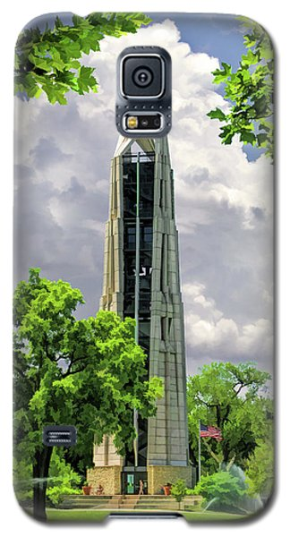Galaxy S5 Case featuring the painting Millennium Carillon by Christopher Arndt