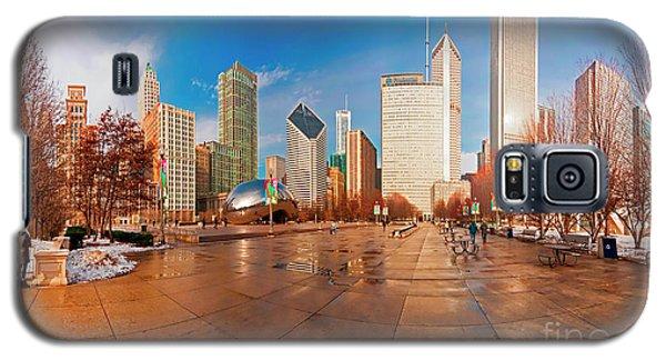 Millennium Park Skyline And The Bean  Galaxy S5 Case