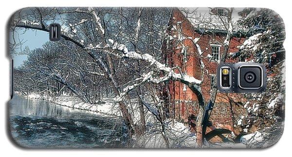 Mill House In Winter Galaxy S5 Case