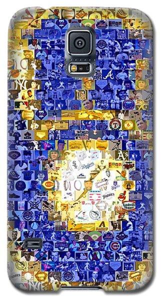 Milwaukee Brewers Mosaic Galaxy S5 Case
