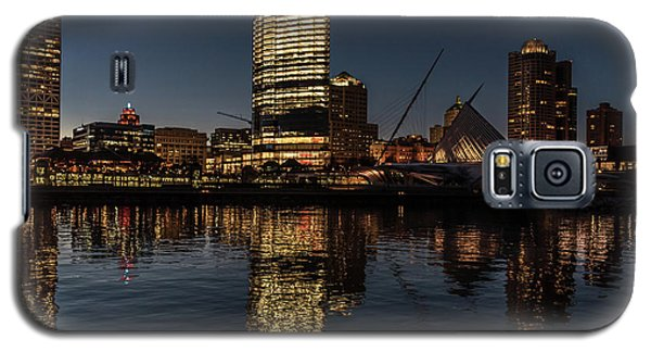 Milwaukee Reflections Galaxy S5 Case by Randy Scherkenbach