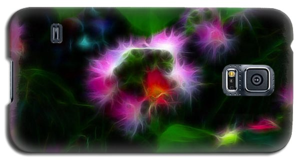 Galaxy S5 Case featuring the photograph Mimosa Flower by EricaMaxine  Price