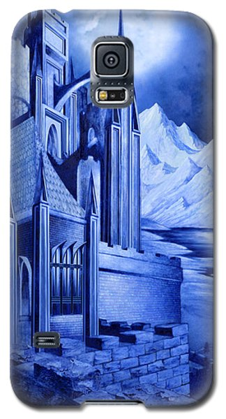 Minas Tirith Galaxy S5 Case by Curtiss Shaffer