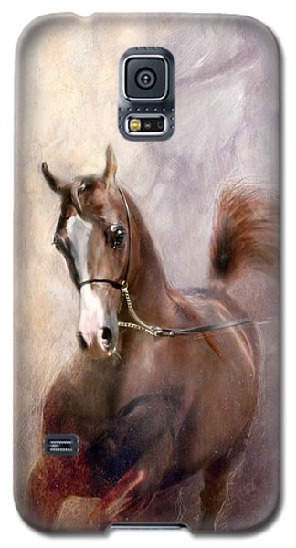 Galaxy S5 Case featuring the digital art Mind Fed With Hope by Dorota Kudyba