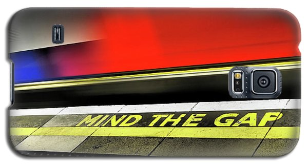 Mind The Gap Galaxy S5 Case by Rona Black