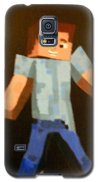 Minecraft Steve Galaxy S5 Case by Sheri Keith via Jayd