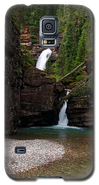 Galaxy S5 Case featuring the photograph Mineral Creek Falls by Steve Stuller