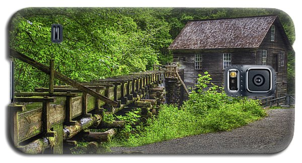 Galaxy S5 Case featuring the photograph Mingus Mill 2 Mingus Creek Great Smoky Mountains Art by Reid Callaway