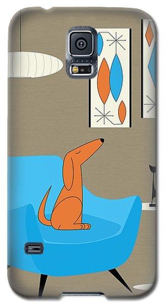 Mini Gravel Art With Dog Galaxy S5 Case