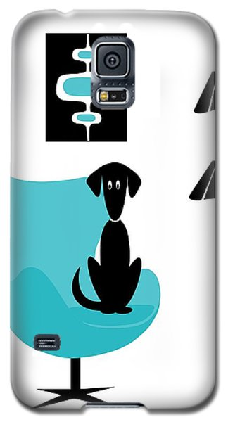 Mini Mod Pods On White With Dog Galaxy S5 Case