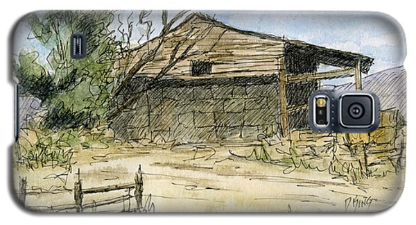 Mini No 1 Old Hay Shed Galaxy S5 Case