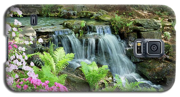 Galaxy S5 Case featuring the photograph Mini Waterfall by Sandy Keeton
