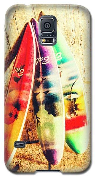 Miniature Surfboard Decorations Galaxy S5 Case