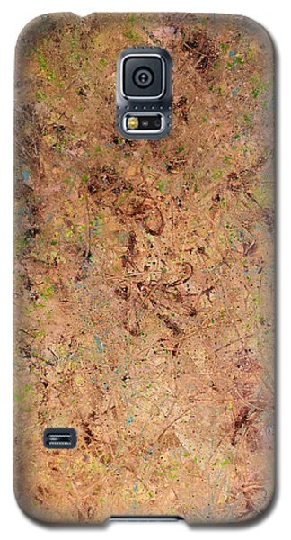 Galaxy S5 Case featuring the painting Minimal 7 by James W Johnson