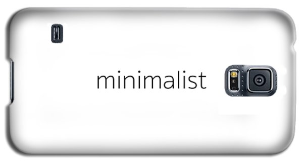 Minimalist Galaxy S5 Case by Bill Owen