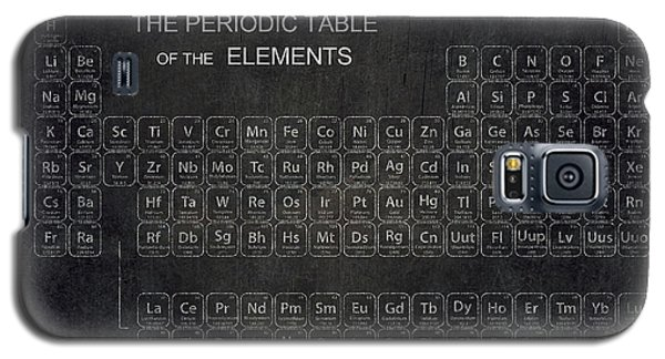 Minimalist Periodic Table Galaxy S5 Case by Daniel Hagerman
