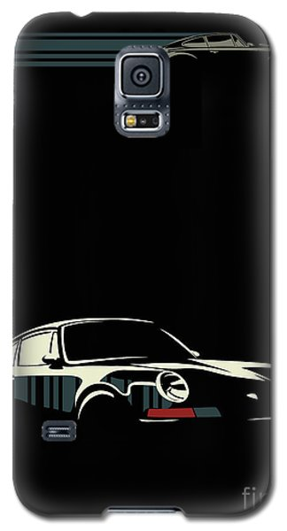 Minimalist Porsche Galaxy S5 Case