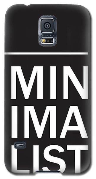 Minimalist Poster Galaxy S5 Case